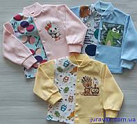 Детская кофточка для новорожденных 80р интерлок (74,80,86) 930