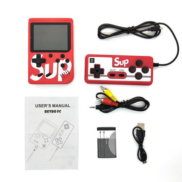 Портативна ігрова приставка SUP денді 400 в 1 з джойстиком