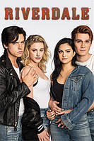 "Постер / Плакат ""Ривердэйл (Багхед И Варчи) / Riverdale (Bughead and Varchie)"""