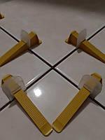 СВП Система выравнивания плитки зажим (LUX 8мм)500шт 1мм
