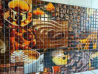 Пластикова листова стінова панель ПВХ Грейс Grace Ароматна кава 0,3мм 955*480 мм