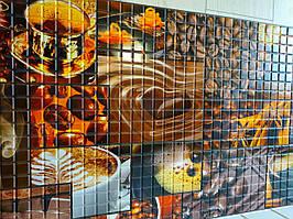 декоративна пластикова листова панель ПВХ Грейс Ароматна кава 0,3мм 955*480 мм