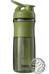 Бутылка-шейкер спортивная BlenderBottle SportMixer 820ml Moss Green SKL24-144849