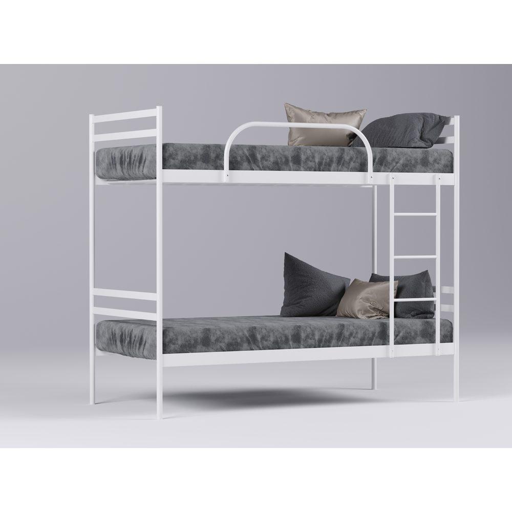 Металлическая кровать двухъярусная Comfort Duo/ Комфорт Дуо. ТМ Метакам