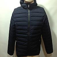 Мужская весенняя  куртка легкая синяя демисезонная куртка, фото 1