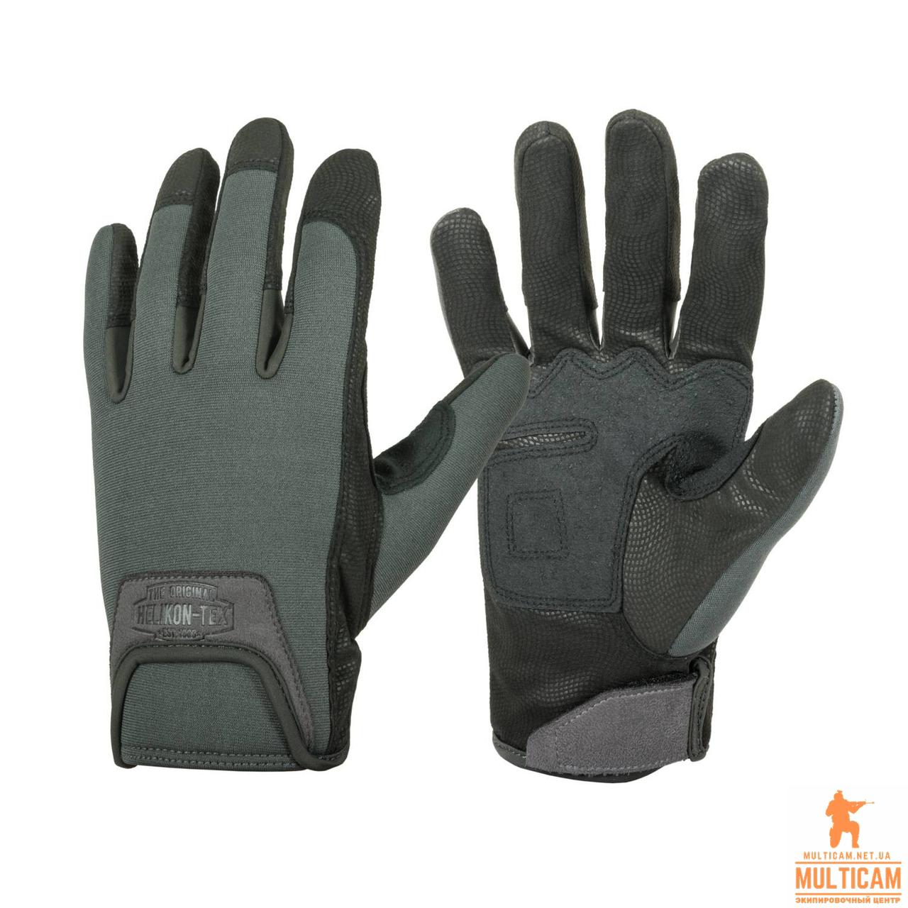 Перчатки Helikon-Tex® Urban Mk2 Gloves - Shadow Grey/Black