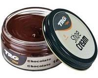 Крем - краска для обуви и изделий из кожи шоколад Trg Shoe Cream, 50 мл