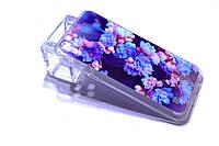 """Чехол для LG X Power K220DS """"Синие цветы"""""""