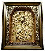 """Икона деревянная Божией Матери """"Иверская"""""""