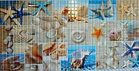"""Панелі ПВХ мозаіка """"Пляж"""" 0,4мм (955*480 мм), фото 1"""
