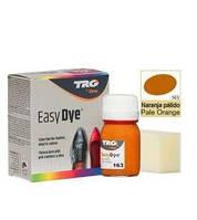 Краска для гладкой кожи TRG Easy Dye 25мл, 163 Pale Orange (бледно оранжевый)