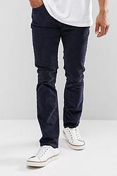 Вельветовые брюки Levis 511 - Nightwash Blue  (30W x 32L)