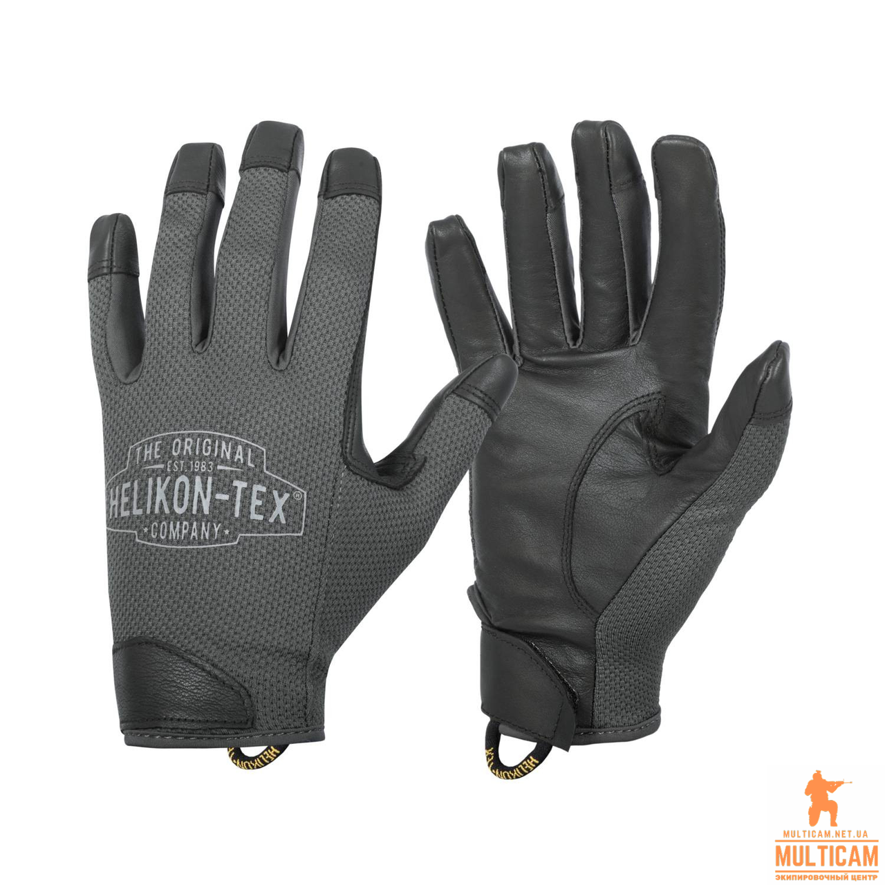 Перчатки Helikon-Tex® Rangeman Gloves - Shadow Grey/Black