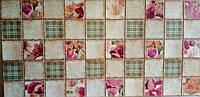 Пластикова листова стінова панель ПВХ Грейс Grace Іриси в камінні 0,3мм 964*484 мм