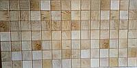 Пластикова листова стінова панель ПВХ Грейс Grace Брус вибілений 0,3мм 955*480 мм, фото 1