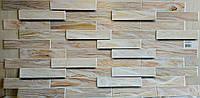 Пластикова листова стінова панель ПВХ Грейс Grace Дерево дуб вибілений 0,3мм 980*480 мм