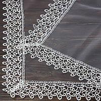 Венчальный платок бежевый 80х80 см (арт. PV-1090 )