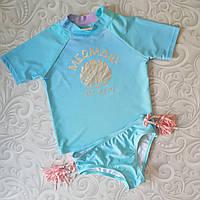 Солнцезащитный купальный костюм c upf 50, купальник Minoti, фото 1