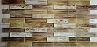 Пластикова листова стінова панель ПВХ Грейс Grace Дерево дуб голландський 0,3мм 980*490 мм