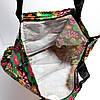 Екосумка з кишенею на блискавці складається в гаманець забарвлення мікс, фото 2