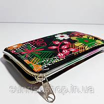 Екосумка з кишенею на блискавці складається в гаманець забарвлення мікс, фото 3