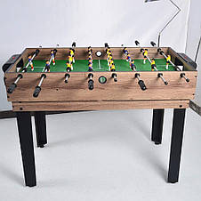 Ігровий стіл Super Fun 4 В 1 - Аерохокей, Настільний футбол, Міні більярд, фото 3