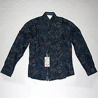 Новая джинсовая детская рубашка TUGI Club на 8 лет р.128