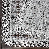 Венчальный платок бежевый 80х80 см (арт. PV-1007)