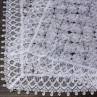 Венчальный платок белый 80х80 см (арт. PV-1008)