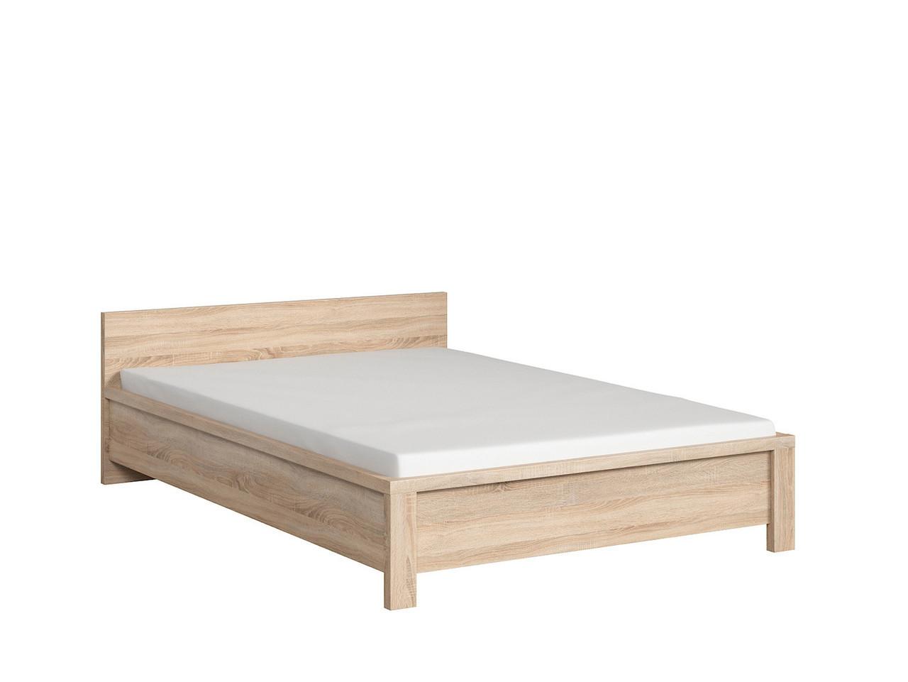 Кровать Kaspian  LOZ/140 (BRW)