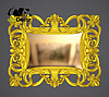 Рама для картины золотая Domingo, фото 2