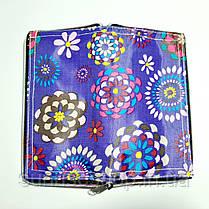 Экосумка с карманом на молнии купить оптом  складывающаяся в кошелек расцветки микс, фото 2