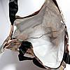 Экосумка с карманом на молнии купить оптом складывающаяся в кошелек расцветки микс, фото 3