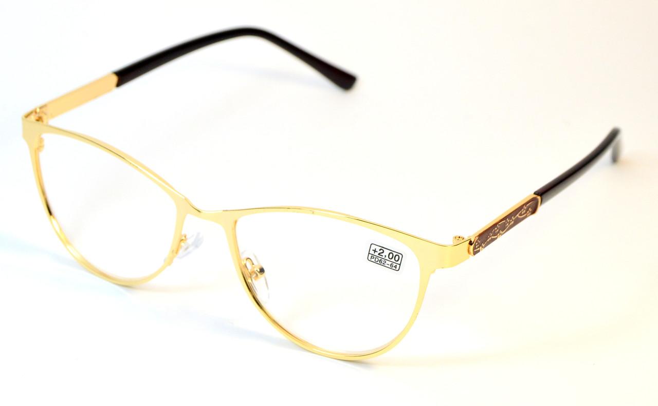 Женские очки в металле (МС 111 зол)