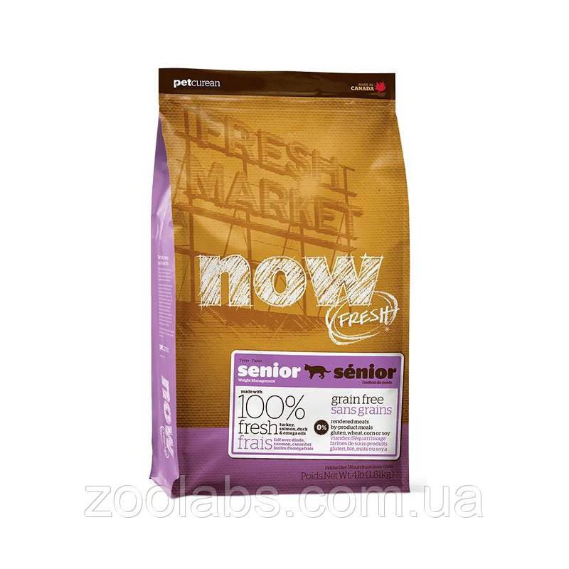 Сухой корм Now для пожилых кошек | Now Fresh Senior Cat Grain Free 3,63 кг