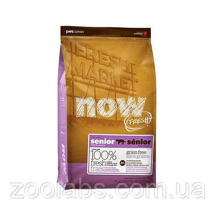 Сухой корм Now для пожилых кошек | Now Fresh Senior Cat Grain Free 3,63 кг, фото 2