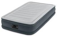 Надувная кровать Intex 67766, 99 х 191 х 33 , встроенный электронасос, фото 1