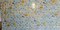 Пластикова листова стінова панель ПВХ Грейс Grace Лагуна піщана 0,3мм 955*480 мм