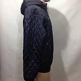 Чоловіча куртка весняна (Великих розмірів) демісезонна куртка, фото 4