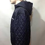 Чоловіча куртка весняна (Великих розмірів) демісезонна куртка, фото 6