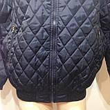 Чоловіча куртка весняна (Великих розмірів) демісезонна куртка, фото 3