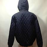 Чоловіча куртка весняна (Великих розмірів) демісезонна куртка, фото 7
