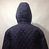 Чоловіча куртка весняна (Великих розмірів) демісезонна куртка, фото 10