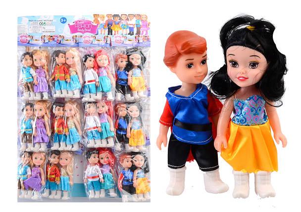 """Набор кукол """"Диснеевские принцессы"""" 12 шт на планш. /24/288/, фото 2"""