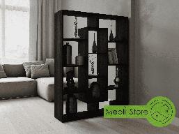 Полка для книг, стеллаж для дома из ДСП на 11 ячеек (4 ЦВЕТА)