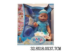 """Пупс 16"""" Baby Love интерактивный в кор. 32х18х37 /12/"""