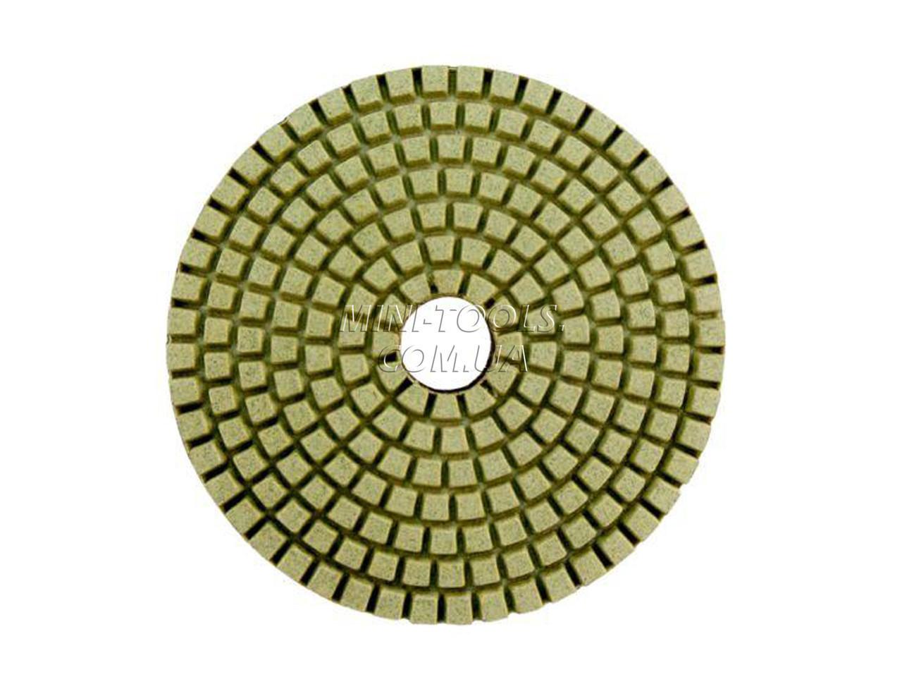 Черепашка D-100мм. зерно #200. Алмазный гибкий шлифовальный круг YDS Tools