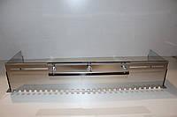 Гребенка раздвижная универсальная для нанесения клея нержавеющая сталь зуб 10x10мм