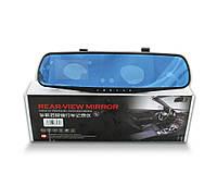 Зеркало видеорегистратор c одной камерой Rear-view 138-E  USB/AVI/30fps/JPEG, 3,8 дюймов, циклическая запись, видеорегистрато