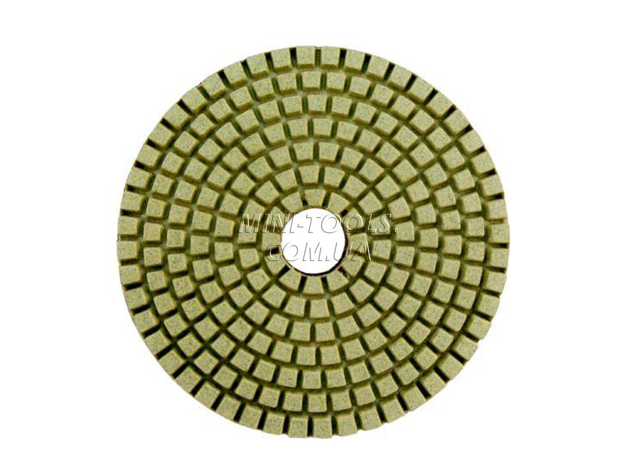Черепашка D-100мм. зерно #800. Алмазний гнучкий шліфувальний круг YDS Tools